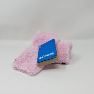 Columbia Women's Pink Warm Fuzzy Socks